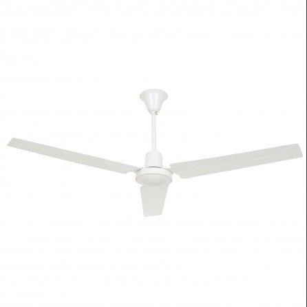 FARO INDUS Ventilador de techo sin luz blanco 33001