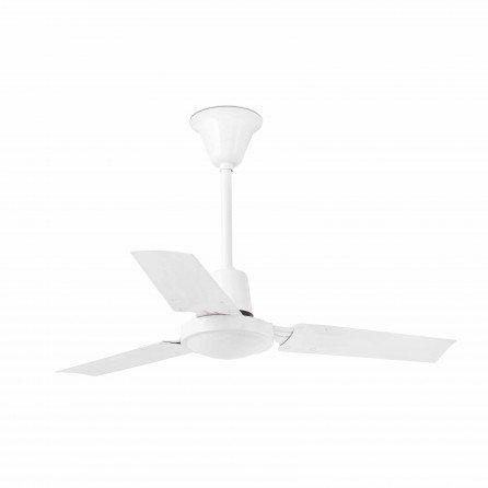 FARO MINI INDUS Ventilador de techo sin luz blanco 33011