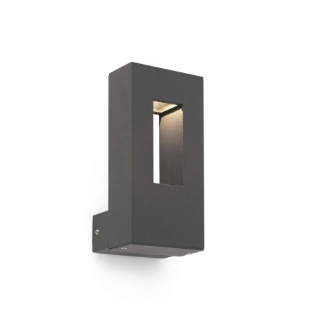 FARO RABAT LED Lámpara aplique gris oscuro 70640