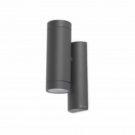 FARO STEPS Lámpara aplique gris oscuro 75501