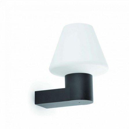 FARO MISTU Lámpara aplique gris oscuro 74432+74428