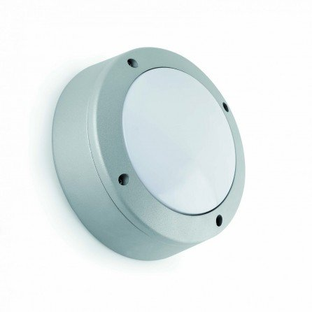 FARO POLAR Lámpara aplique gris plata 70680