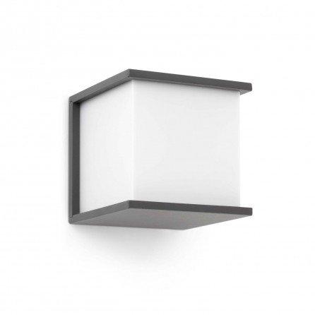 FARO KUBICK Lámpara aplique gris oscuro 70689