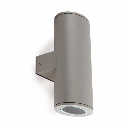 FARO PISTON Lámpara aplique gris 70808