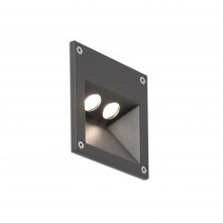 FARO CITRUS-2 LED Lámpara empotrable gris oscuro 70561