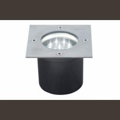 PAULMANN 98876 juego de 3 luces empotradas, Línea especial, LED  de acero inoxidable
