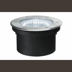 PAULMANN 93746 Línea especial, LED, acero inoxidable, redonda