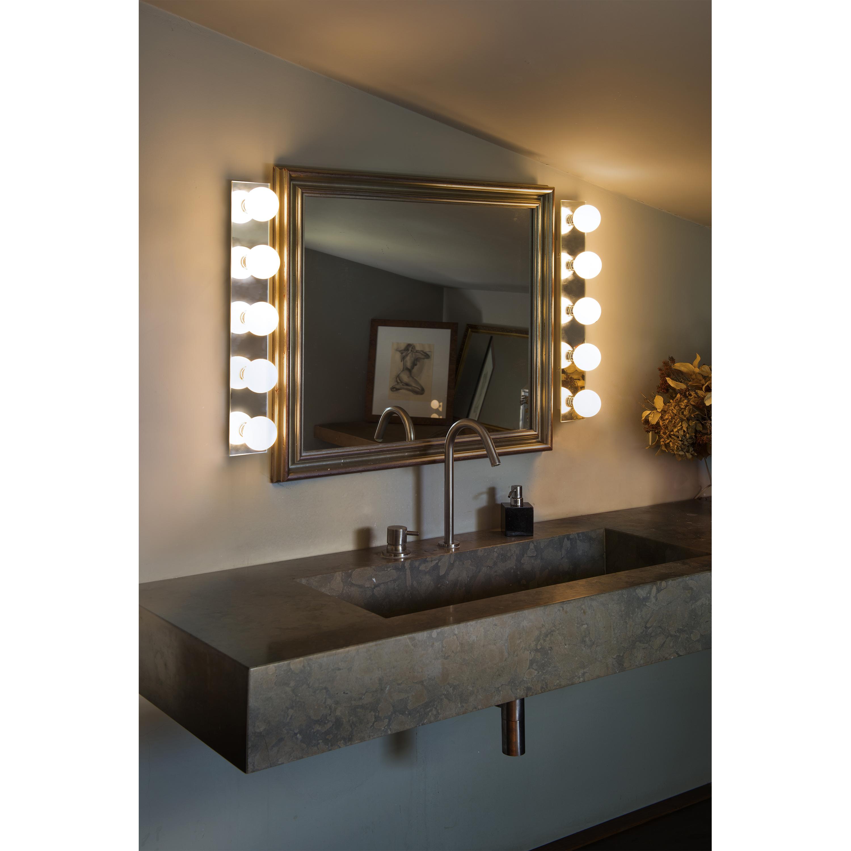 Faro lass l mpara aplique espejo 63009 faro iluminacion interior apliques y focos faro - Aplique espejo bano ...