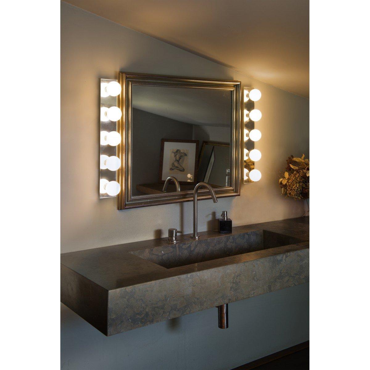 Faro lass l mpara aplique espejo 63009 faro iluminaci n - Aplique pared bano ...