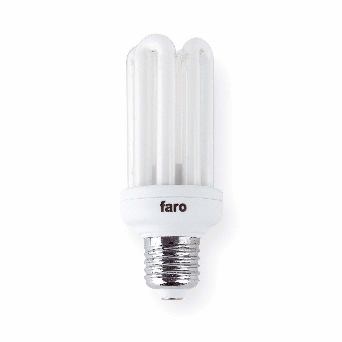 Faro 16166 bombilla e27 15w blanca c lida bajo consumo for Bombilla bajo consumo e27