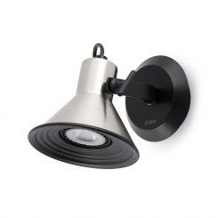 FARO CUP-1 Lámpara aplique níquel satinado 40581