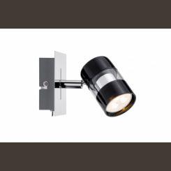 PAULMANN Spot LED 1x3,5W Nevo 230V negro cromo 60186