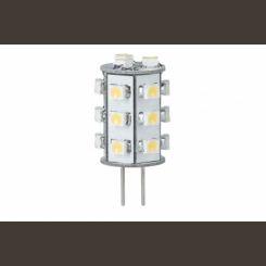 PAULMANN 28091 bi pin LED 1W G4 blanco calido 12V 3000K 91lm