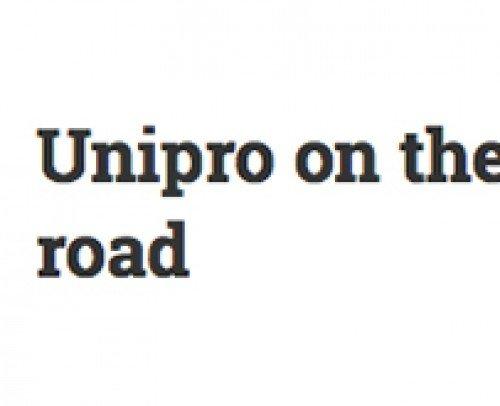 UNIPRO on the road blog
