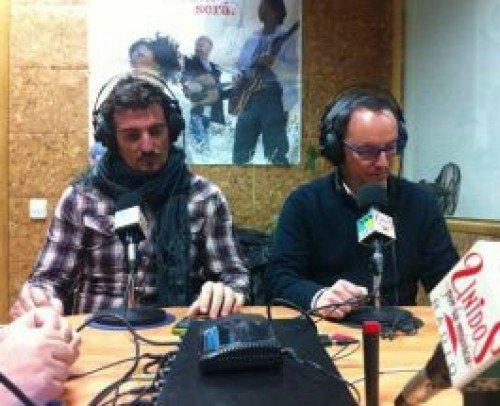 Nacho Lurbe y Jordi Freecook