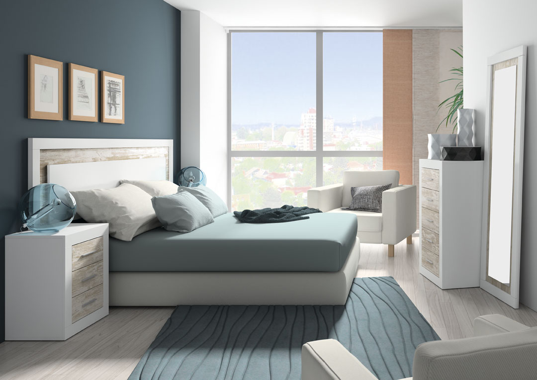 Home muebles en l ria muebles en valencia mueble - Dormitorio clasico moderno ...