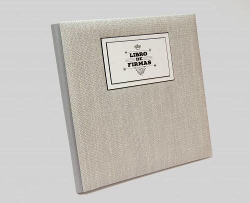 Libro de firmas 30x30 (bodas)