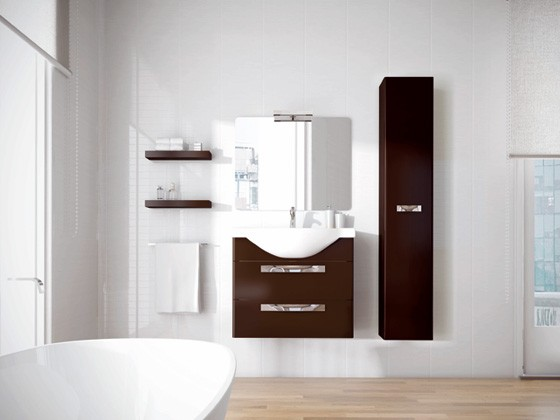 Almeria  medida de 75 cm  MUEBLES DE BAÑO  Todo para el baño