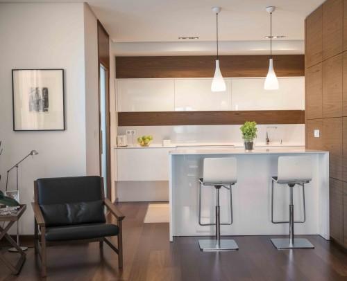 Integración de zona office de la cocina