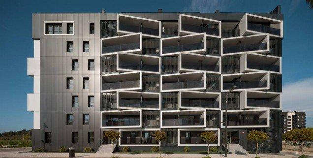 proyecto terminado, 29 viviendas passivhause ( Pamplona )
