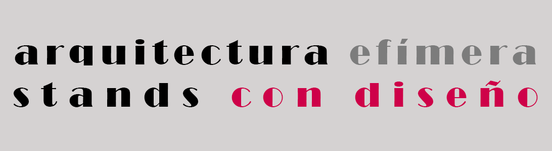 Stands :: Estudio de interiorismo: diseño Valencia, proyectos de interiorismo, stands de feria.