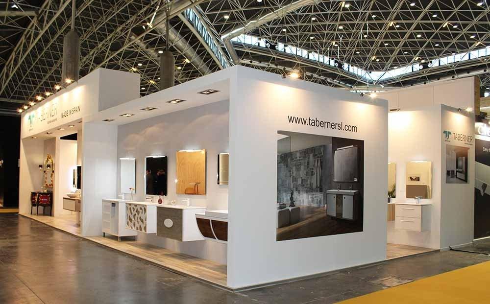 Stands muebles y accesorios taberner cevisama 17 - Proyectos de interiorismo valencia ...
