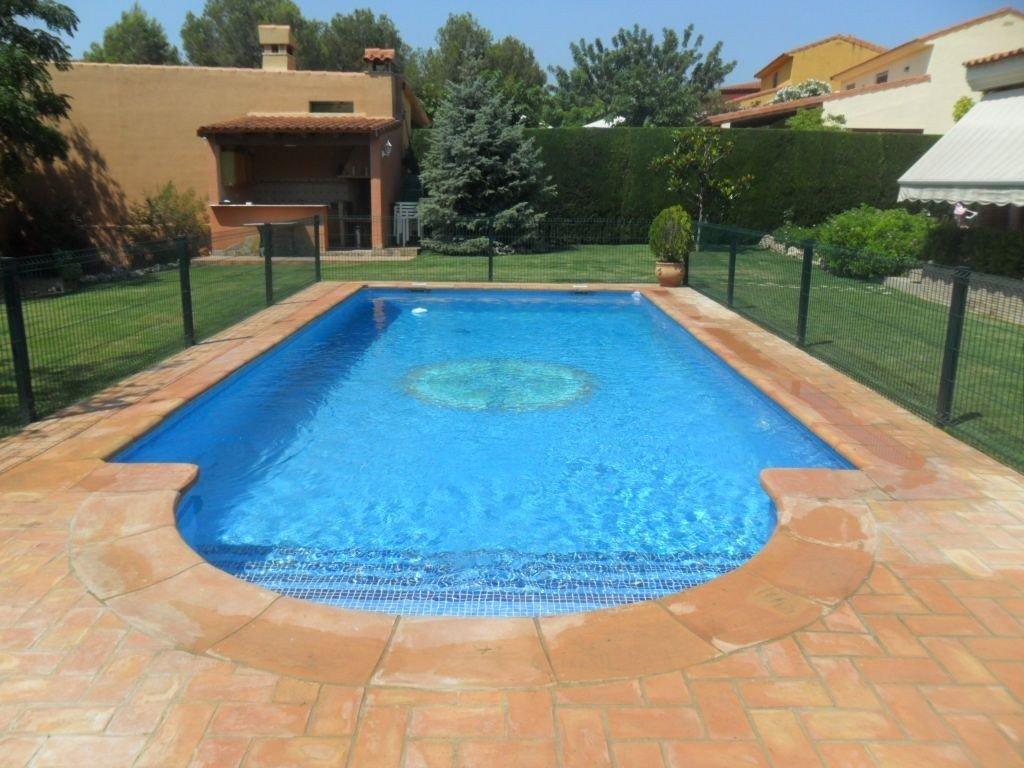 Baldosas de barro manual y remates de piscina baldosas - Losas para piscinas ...
