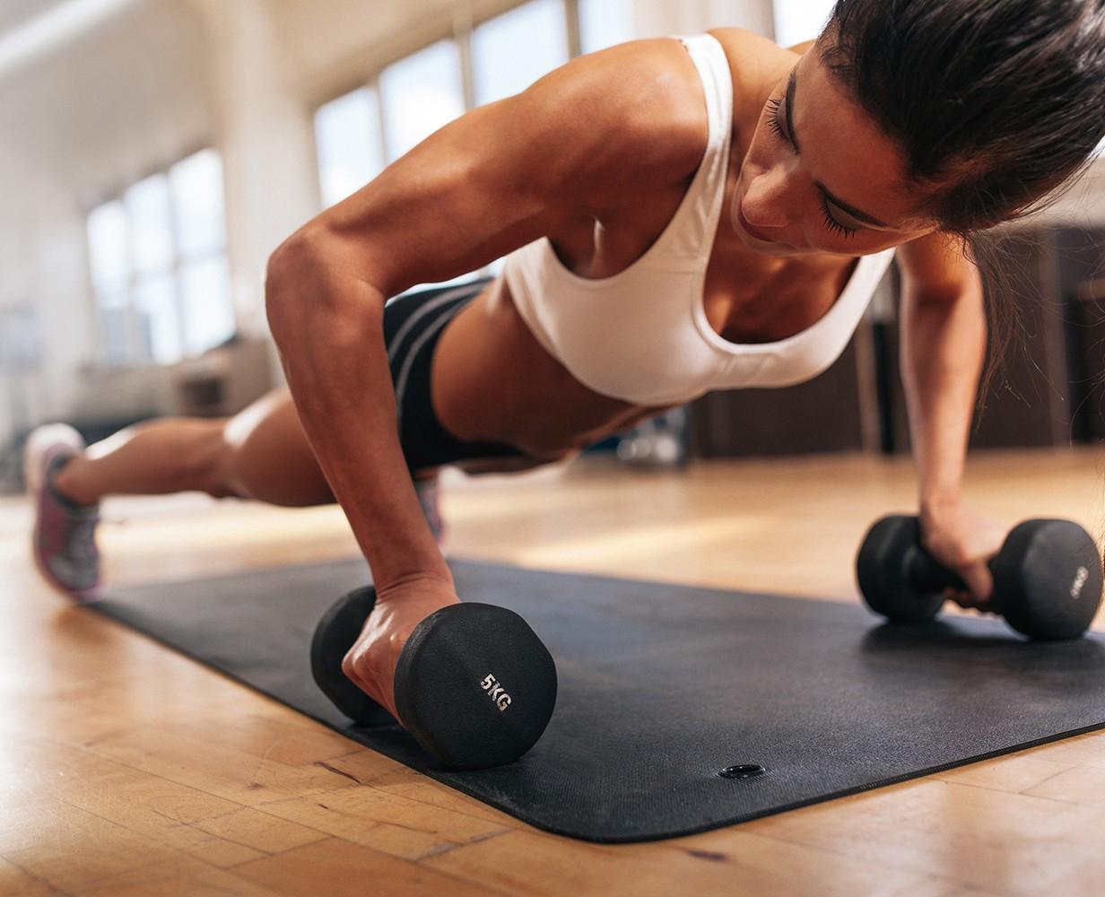 Физические нагрузки для похудения в 5