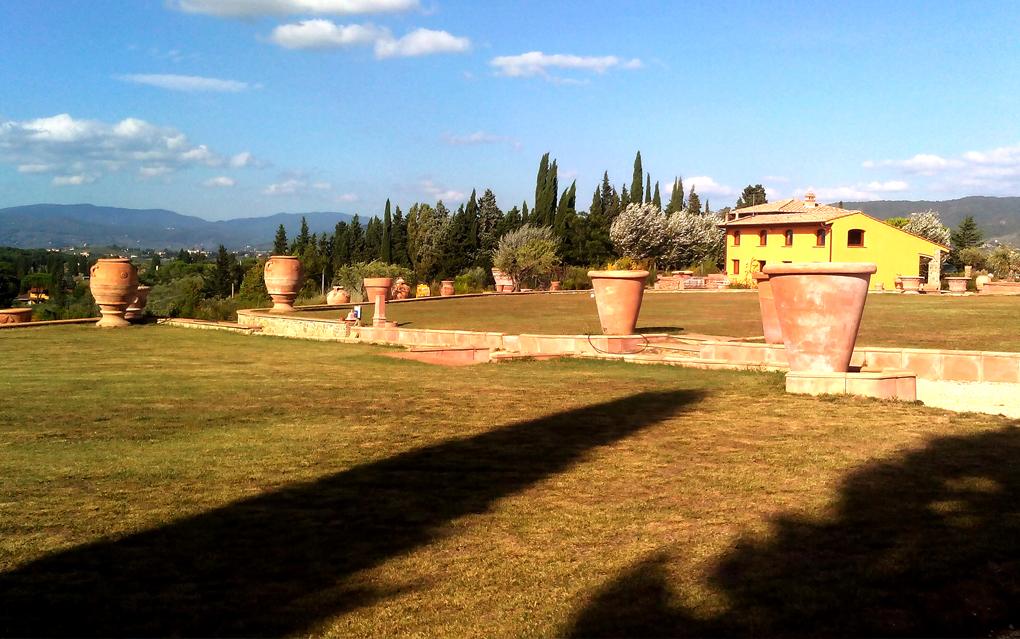 Giardino di Zago en Florencia.
