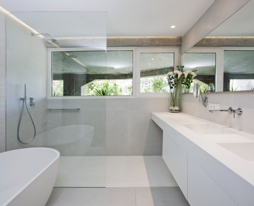 Mueble y Plato de ducha SOLID SURFACE