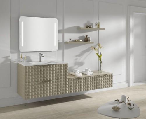 Vista laretal colección de baño Zeta