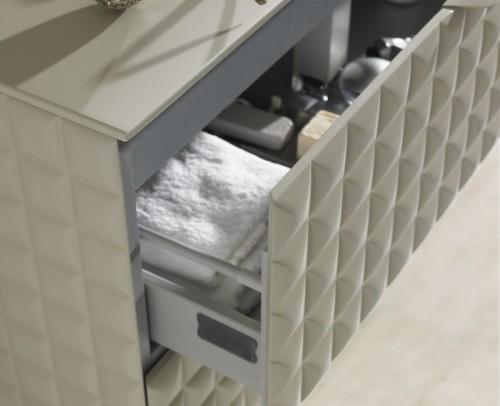 Detalle cajón mueble de baño