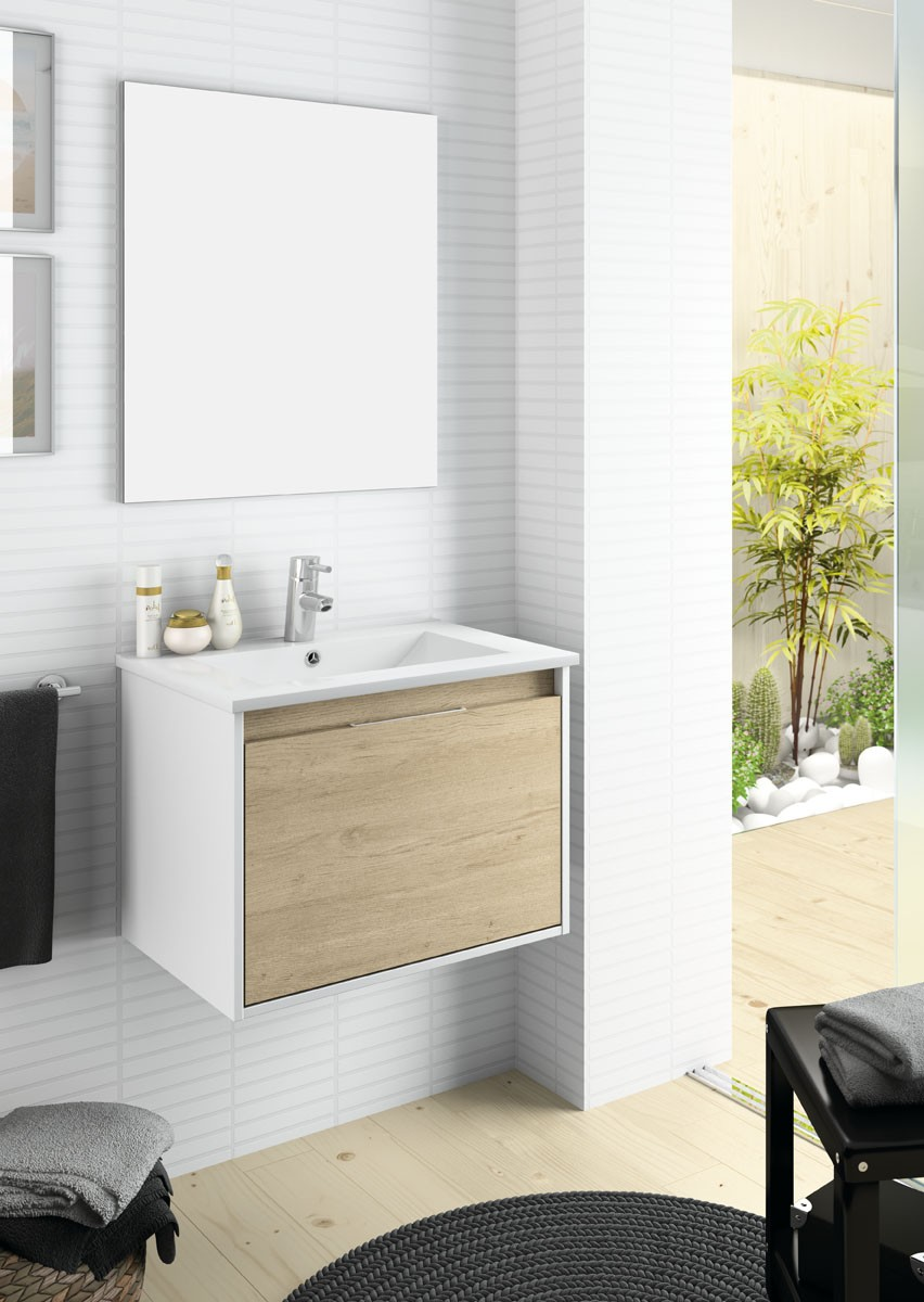 Serie basic ikebe fabrica de muebles de ba o a medida for Fabrica muebles valencia