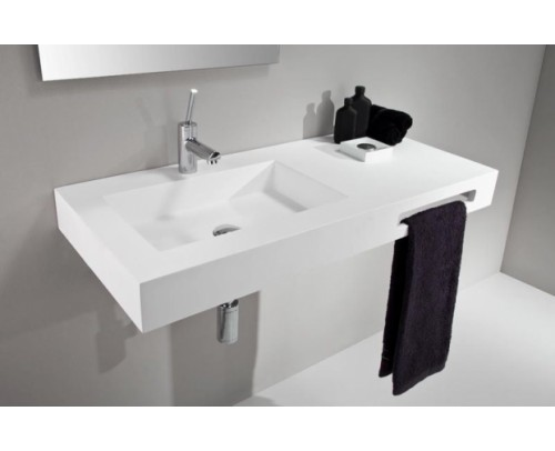 Lavabo ZEN LIS GEL COAT Blanco Mate