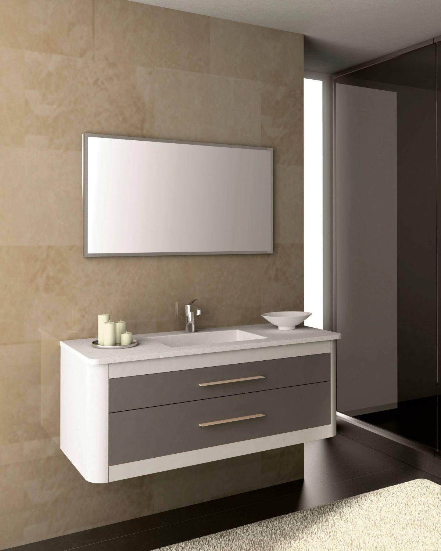 Proyecto Mueble Funcional Diseño De Mobiliario A Medida: Mueble CLAN 120 Antracita Metal