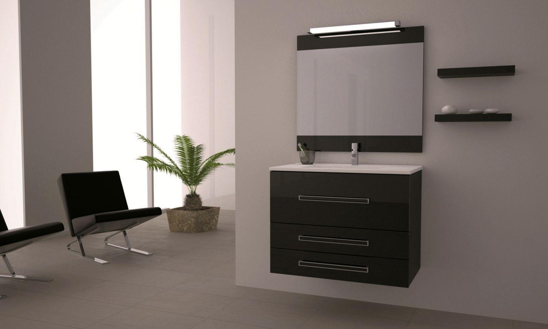 Loft 80 negro t2 loft mobiliario ba o ikebe for Loft muebles