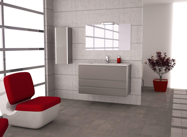 Loft 100 antracita metal t4 loft mobiliario ba o for Loft muebles