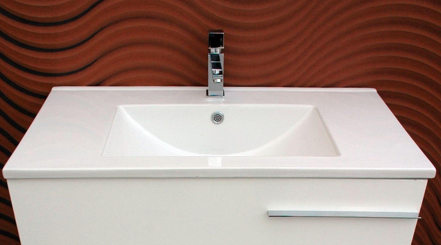 Lavabo neo porcelana fondo reducido 39 cm lavabos for Lavabos de porcelana
