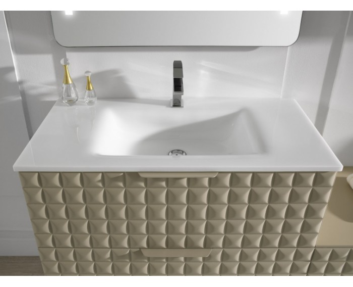 Lavabo ELBA Cristal ceramico Blanco Brillo