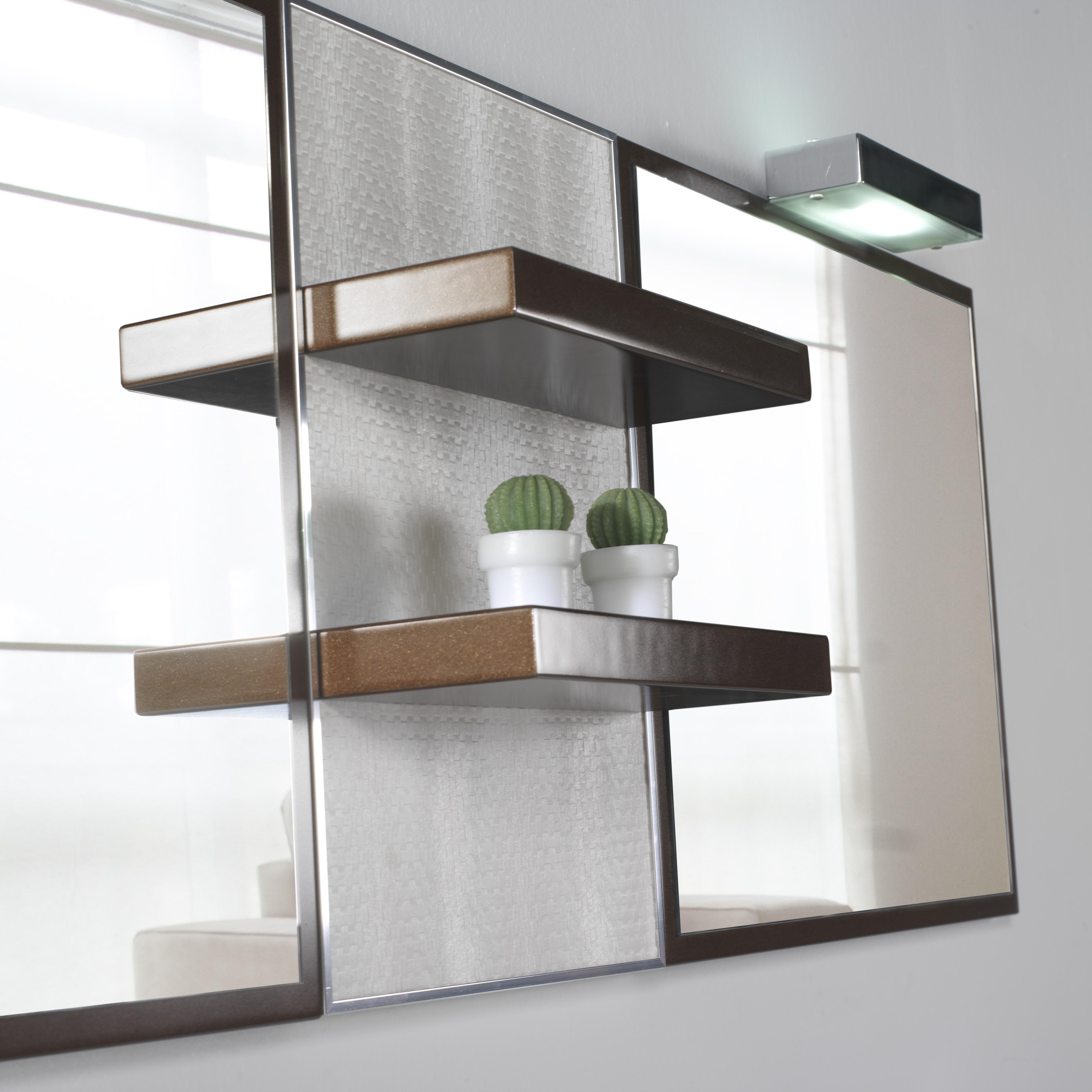 Espejo neo panel top espejos espejos iluminaci n - Iluminacion espejo bano ...