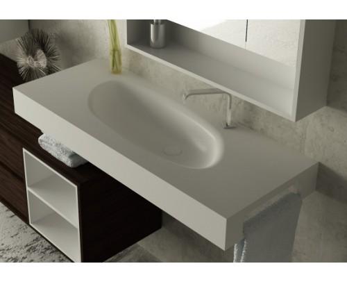 Lavabos fabricados completamente a medida for Medidas lavabo