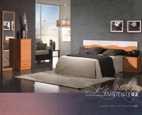 Dormitorio Mickey Ambiente 02 Cerezo