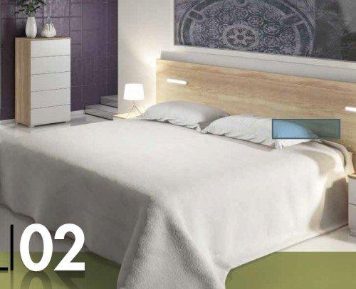 Dormitorio CALI02  Cambria-Blanco