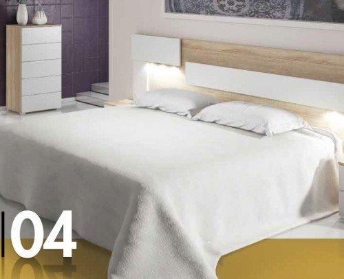 Dormitorio CALI 04LICA Cambrian-Blanco