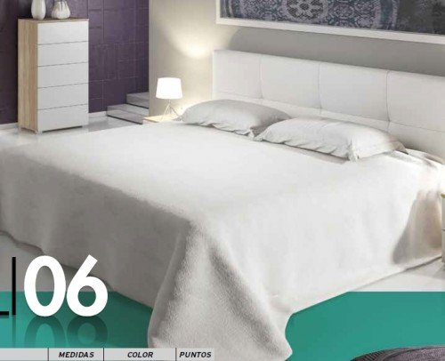 Dormitorio CALI 06-DEVA Cambrian Blanco