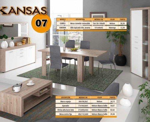 Composición Kansas 07 Nelson-Blanco Brillo