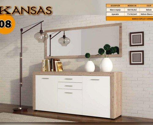 Composición KANSAS 08 Nelson-Blanco Brillo