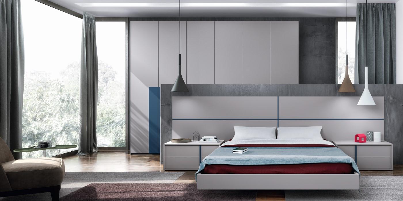 Dormitorios y camas modernos de calidad online en valencia - Muebles dormitorio moderno ...