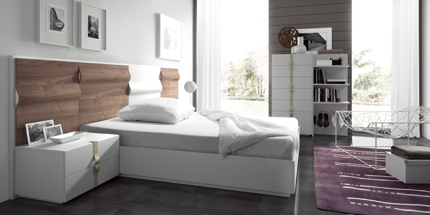 Dormitorios y camas modernos de calidad online en valencia for Planificador de habitaciones online