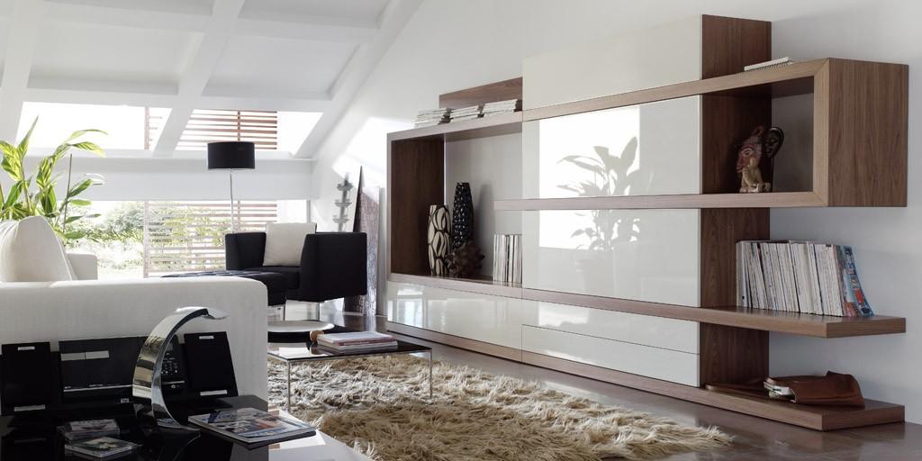 Salones modernos de calidad online en valencia - Interiorismo salones modernos ...